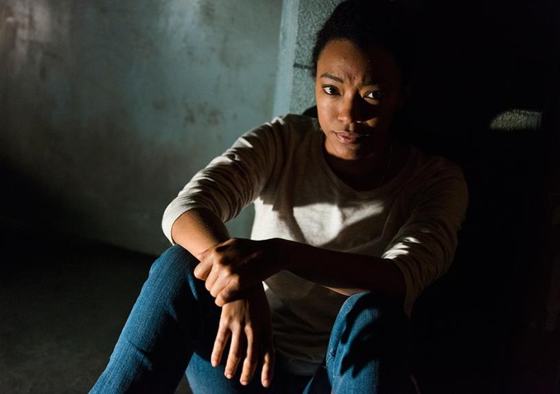 Sasha (Sonequa Martin-Green) in Episode 15 Photo by Gene Page/AMC