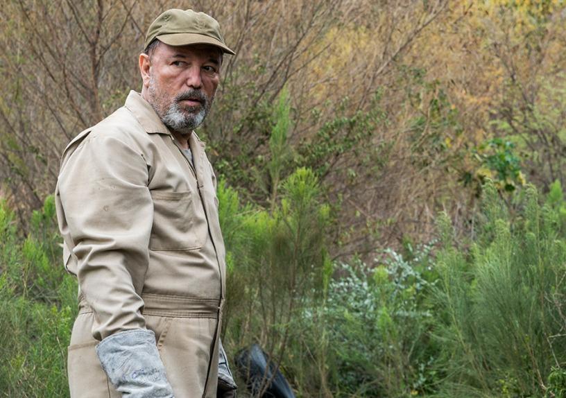 Daniel Salazar (Ruben Blades) in Episode 4 Photo credit: Michael Desmond/AMC Fear The Walking Dead