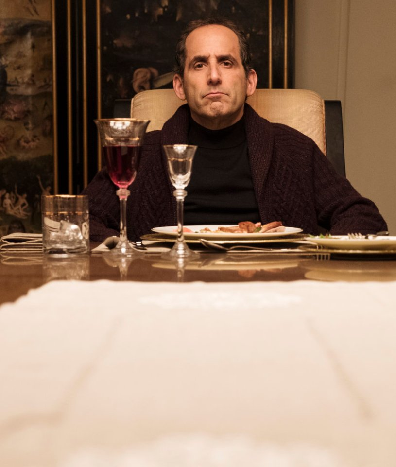 "COLONY -- ""The Emerald City"" Episode 306 -- Pictured: Peter Jacobson as Proxy Alan Snyder -- (Photo by: Eric Milner/USA Network)"